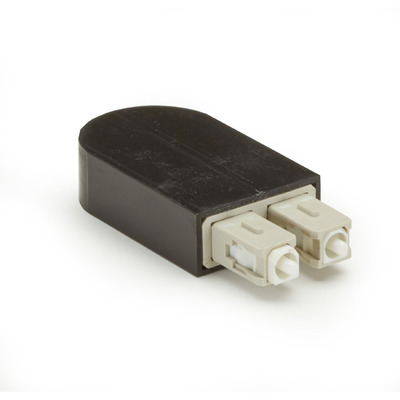 Black Box Fiber Optic Loopbacks Fiber optic adapter - Zwart,Wit