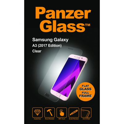 PanzerGlass Samsung Galaxy A3 (2017) Standard Fit Screen protector - Transparant