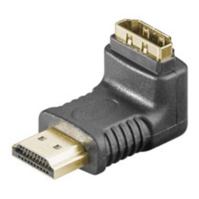 Goobay A 339 GA (HDMI 19pin F/HDMI 19pin M) Kabel adapter - Zwart