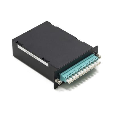 Schneider Electric Actassi - equipped optic cassette LC/MTP - 1U - OM4 Fiber optic adapter - .....