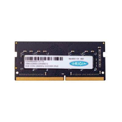 Origin Storage 4GB DDR4 2400MHz SODIMM 1RX8 Non-ECC 1.2V RAM-geheugen