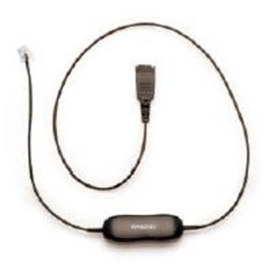 Jabra telefoon kabel: Siemens SL1 cord