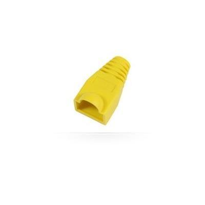 Microconnect kabelbeschermer: Boots RJ45, 25pack - Geel