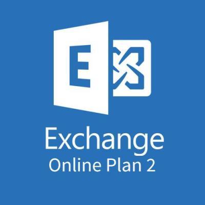 Microsoft Exchange Online Plan 2 (Maandelijks) Software licentie