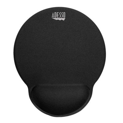 Adesso TRUFORM P200 - Memory Foam Mouse Pad with Wrist Rest Muismat - Zwart