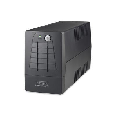 Digitus Line-Interactive 600VA UPS - Zwart