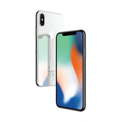 Apple smartphone: iPhone X 256GB Silver - Zilver (Refurbished LG)