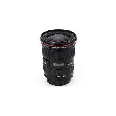 Canon camera lens: EF 17-40mm f/4.0L USM - Zwart