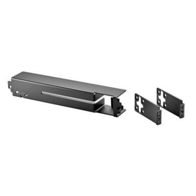 Hewlett Packard Enterprise 2930F 8-port Cable Guard Kabel beschermer - Zwart