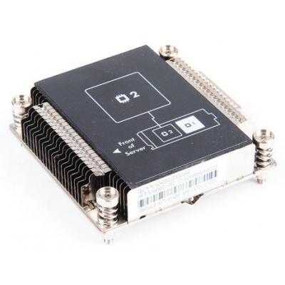 Hp Hardware koeling: 670032-001 - Zwart, Metallic (Refurbished ZG)