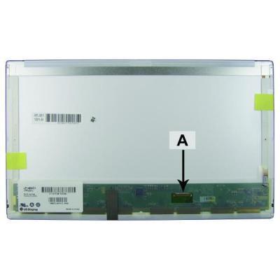"""2-power notebook reserve-onderdeel: 35.56 cm (14.0"""") 1600x900 HD+ LED Matte - Zwart"""