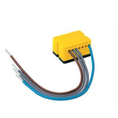 One Smart Control DRUKKNOPKLEM VOOR VERLICHTING MET 1 DRUKKNOPINGANG, 230 V AC, 50 Hz, 0.4 W, IP20 .....