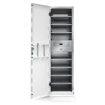 APC Galaxy VS Modular Battery Cabinet for up to 9 smart modular battery strings - Wit