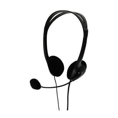 BasicXL headset: Stereo headset zwart