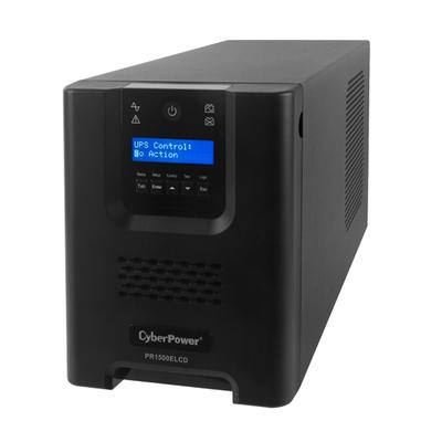 CyberPower PR1500ELCD UPS - Zwart