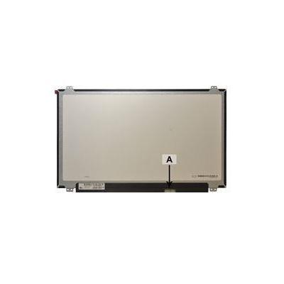 """2-power notebook reserve-onderdeel: 39.624 cm (15.6 """") 1920x1080 LED FullHD Matte - Zwart, Grijs"""