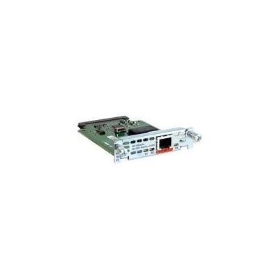 Cisco interfaceadapter: 1-port ISDN BRI S/T WAN Interface Card