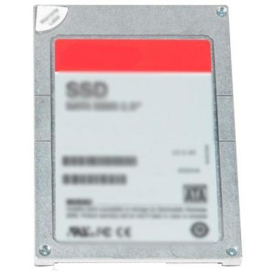 "Dell SSD: Solid State Drive – 400GB SAS 12Gbps 6.35 cm (2.5"") drive, 8.89 cm (3.5"") HYP Carr, Mix Use PX04SM - Grijs"