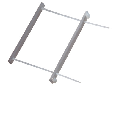 Leitz Storage Rods snelhechtstrip - Grijs, Transparant