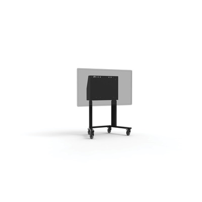 ErgoXS 96 - 162 cm, 70 kg, 600 x 400 mm VESA Montagehaak - Zwart