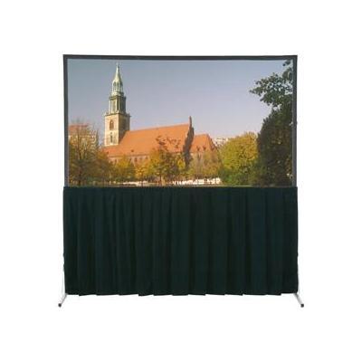 Da-Lite Fast-Fold Deluxe Skirt Drapery 244 x 244 Projector accessoire - Zwart