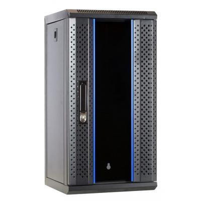 DS-IT 10 inch 12U serverkast met glazen deur 312x310x618mm (BxDxH) Stellingen/racks