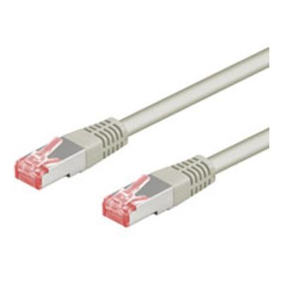 Goobay CAT 6-050 SSTP PIMF Grey 0.50m Netwerkkabel