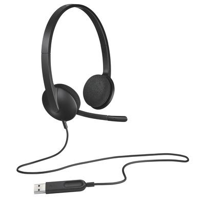 Logitech H 340 Headset - Zwart