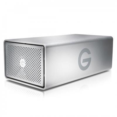 G-technology behuizing: G-RAID USB - Zilver