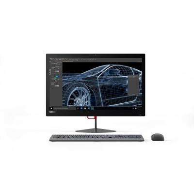 Lenovo all-in-one pc: ThinkCentre X1 256GB SSD 8GB RAM i7 processor - Zwart