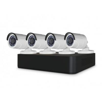"Conceptronic video toezicht kit: 4x 1/3"" CMOS 1080P Day/Night Outdoor Cameras, 8-Channel 1080P CCTV Surveillance Kit, ....."
