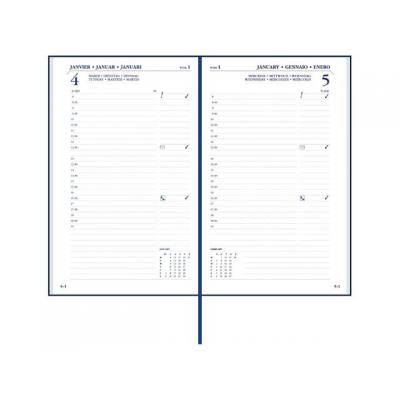 Staples kalander: Agenda SPLS London 115x185 1dpp 6t b'rd