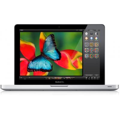 """Apple laptop: MacBook Pro 13"""" Refurbished (Licht gebruikt) - Aluminium, Zwart"""