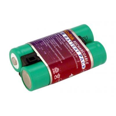 2-power batterij: Digital camera battery, NiMH, green - Groen