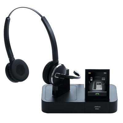Jabra headset: Pro 9460 Duo - Zwart