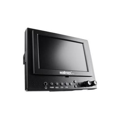 Walimex draagbare TV: pro LCD Monitor 12.7 cm Video DSLR - Zwart