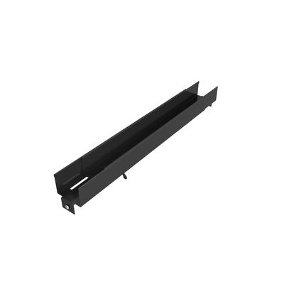 Vertiv Horizontal Cable Organizer Side Channel 20 to 33 inch adjustment Rack toebehoren - Zwart