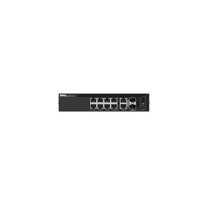 Dell switch: 1108P-ON - Zwart