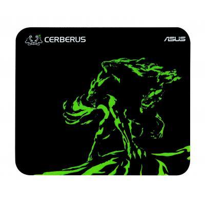 Asus muismat: Cerberus Mat Mini - Zwart, Groen