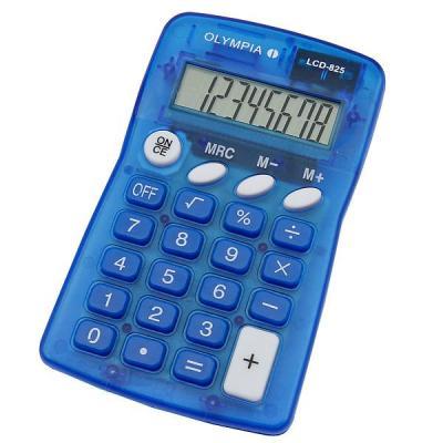 Olympia LCD 825 Calculator - Blauw