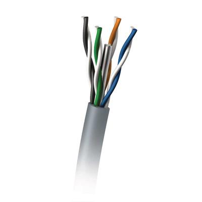 C2G 305M Cat6 350MHz UTP Solid PVC CMR Cable Netwerkkabel - Blauw