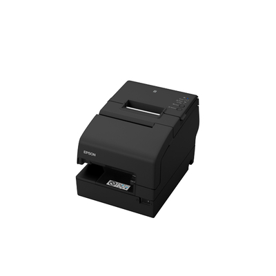 Epson TM-H6000V-204: Serial, Black, No PSU Pos bonprinter - Zwart