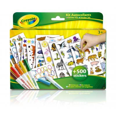Crayola : knutselpakket - Stickerset - Multi kleuren