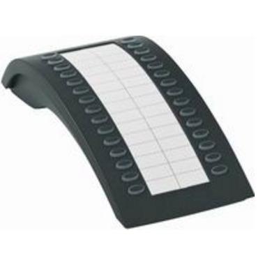 Tiptel IP add-on module: KM30 - Zwart, Wit