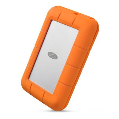 LaCie Rugged RAID Pro Externe harde schijf - Grijs, Oranje