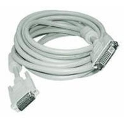 Microconnect DVI-I (DL) 2m DVI kabel  - Wit