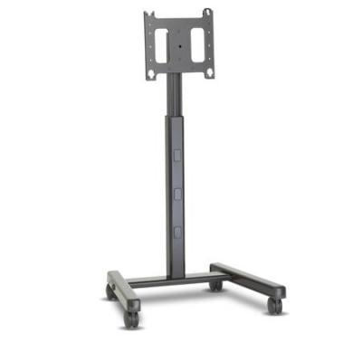 Infocus TV standaard: Verrijdbare mobiele trolley voor de 55-inch Mondopad, BigTouch en jTouch - Grijs