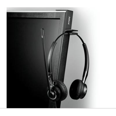 Jabra Headset Hanger, black Koptelefoon accessoire - Zwart