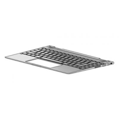 HP Keyboard/top cover with backlight (includes backlight cable and keyboard cable) For use only on computer models .....