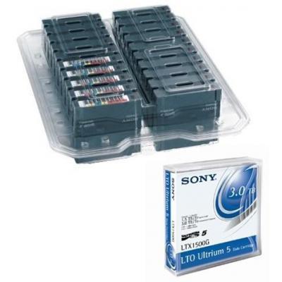Sony 20LTX1500GNLP - 20x Data Cartridge LTO5 Ultrium 1.5/3TB Datatape